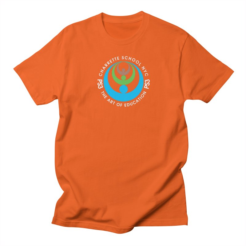 PS3 LOGO/SEAL -- DARK BACKGROUND Men's T-Shirt by PS3: Charrette School