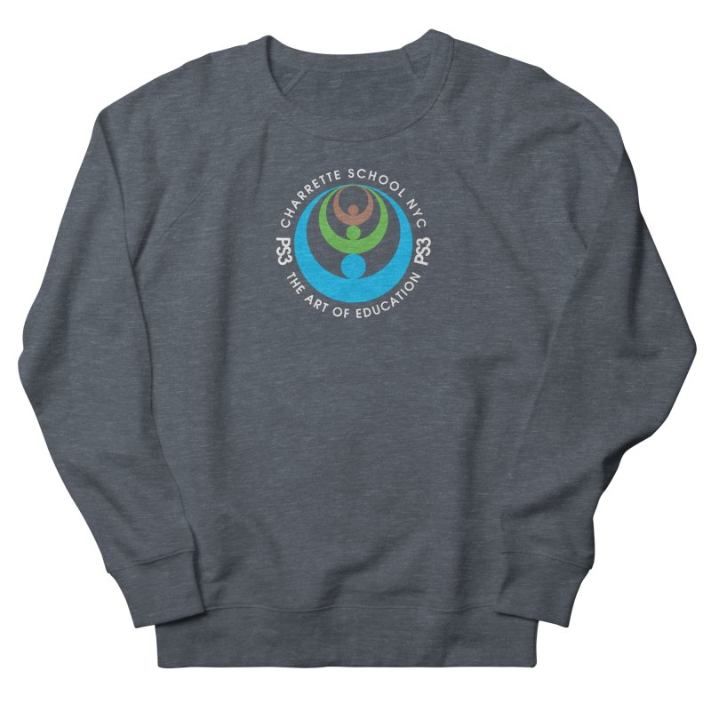 PS3 LOGO/SEAL -- DARK BACKGROUND Women's Sweatshirt by PS3: Charrette School