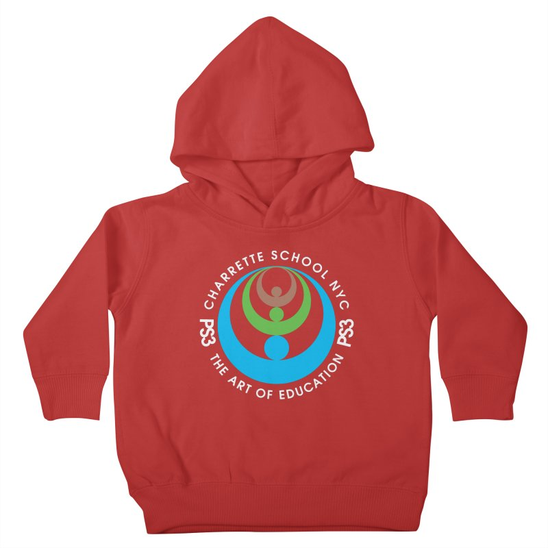 PS3 LOGO/SEAL -- DARK BACKGROUND Kids Toddler Pullover Hoody by PS3: Charrette School