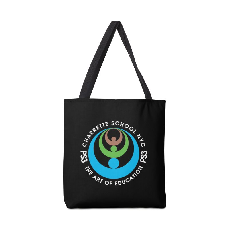 PS3 LOGO/SEAL -- DARK BACKGROUND Accessories Tote Bag Bag by PS3: Charrette School