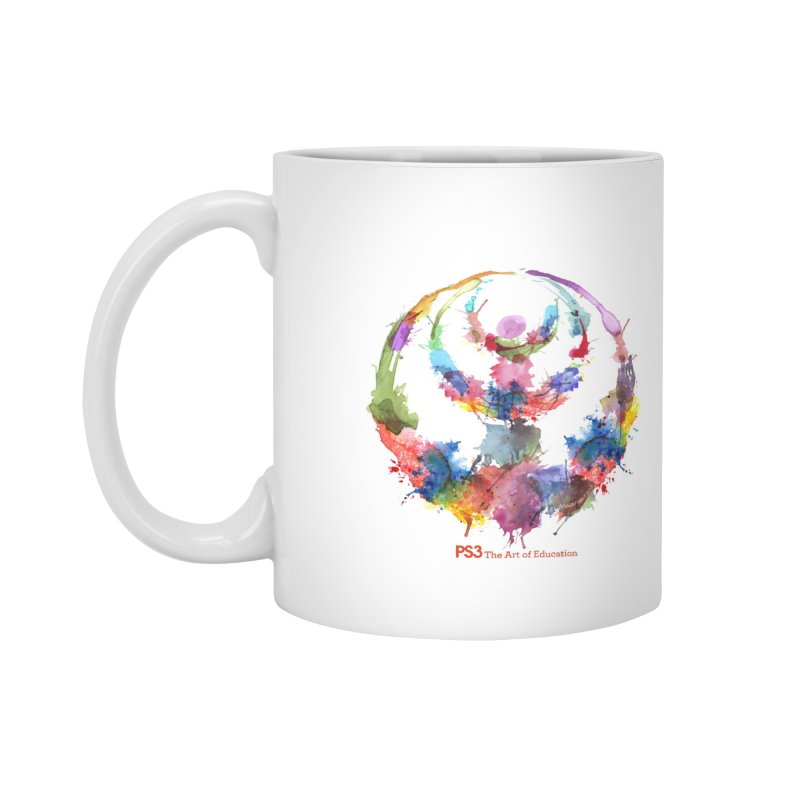 Limited Edition PS3 Watercolor Logo Accessories Mug by PS3: Charrette School