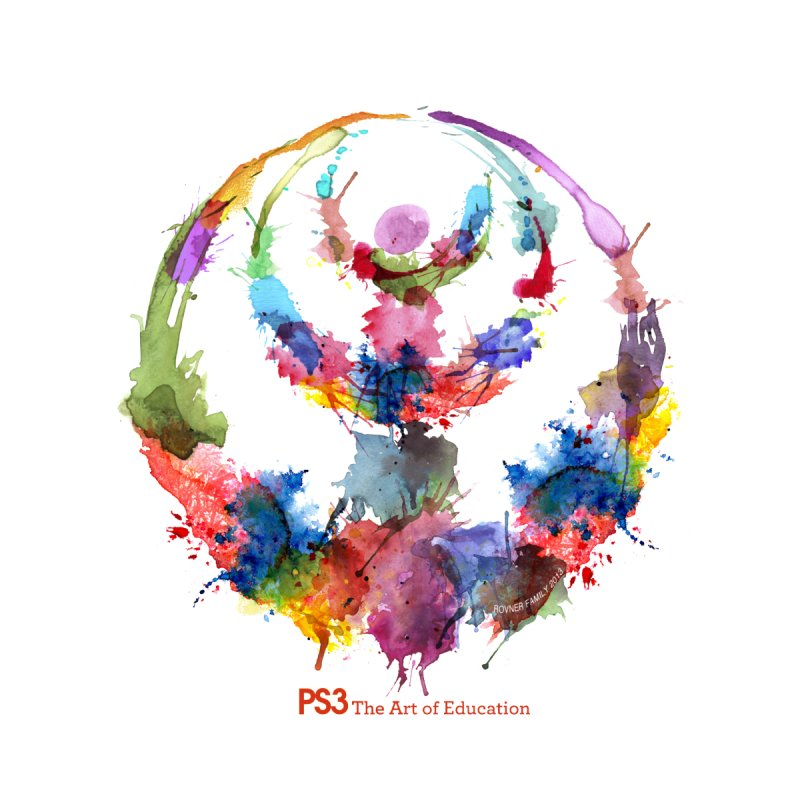 Limited Edition PS3 Watercolor Logo   by PS3: Charrette School