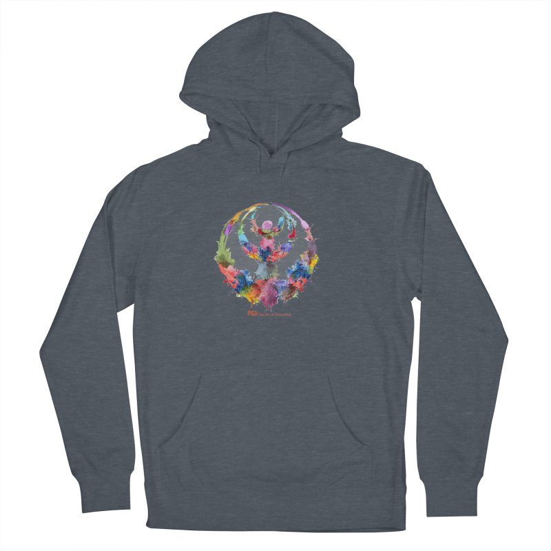 Limited Edition PS3 Watercolor Logo Women's French Terry Pullover Hoody by PS3: Charrette School
