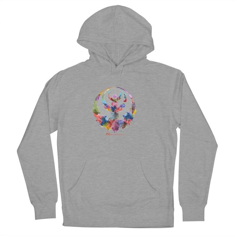 Limited Edition PS3 Watercolor Logo Men's French Terry Pullover Hoody by PS3: Charrette School