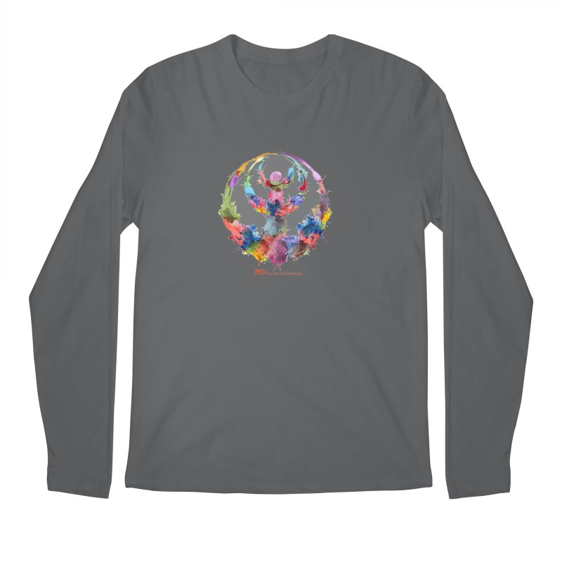 Limited Edition PS3 Watercolor Logo Men's Regular Longsleeve T-Shirt by PS3: Charrette School
