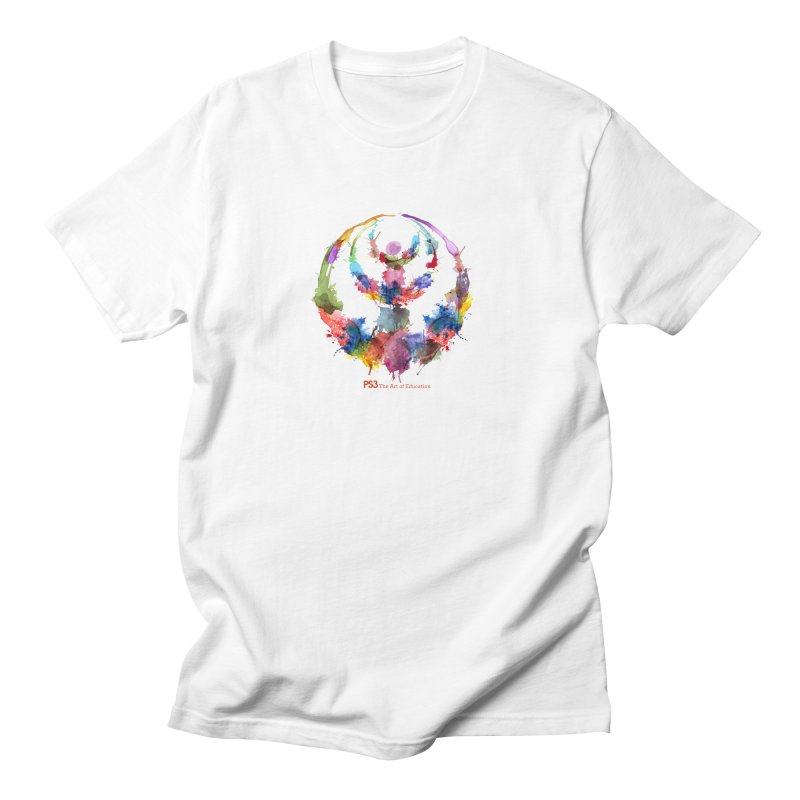 Limited Edition PS3 Watercolor Logo Women's Regular Unisex T-Shirt by PS3: Charrette School