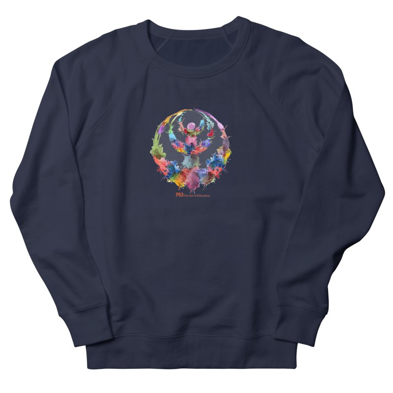 Limited Edition PS3 Watercolor Logo Women's French Terry Sweatshirt by PS3: Charrette School