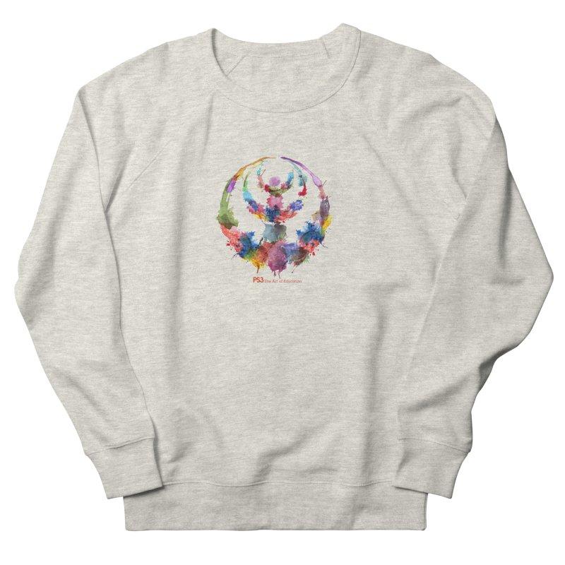 Limited Edition PS3 Watercolor Logo Women's Sweatshirt by PS3: Charrette School
