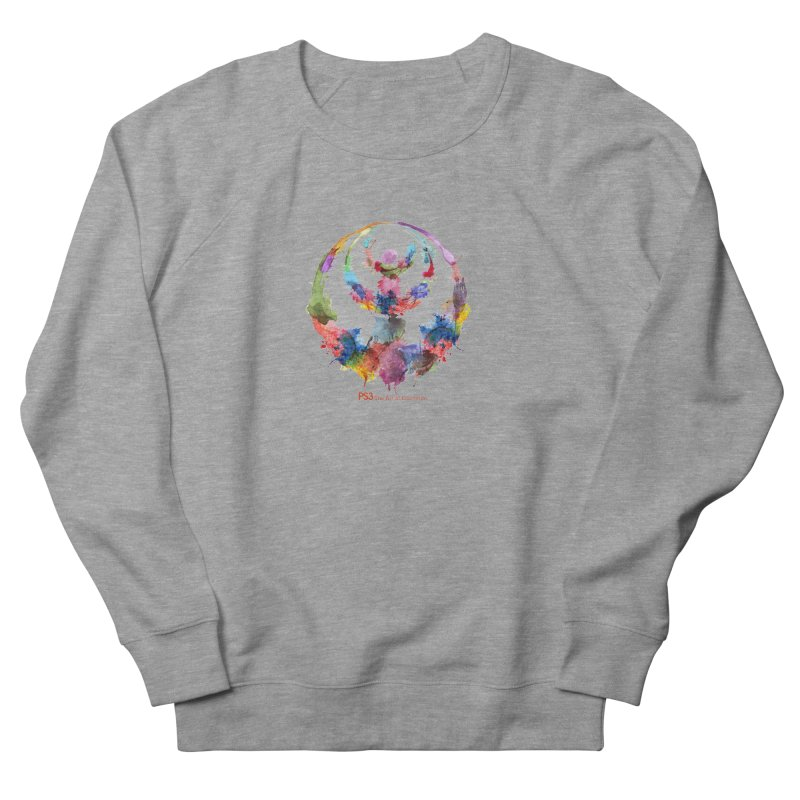 Limited Edition PS3 Watercolor Logo Men's French Terry Sweatshirt by PS3: Charrette School