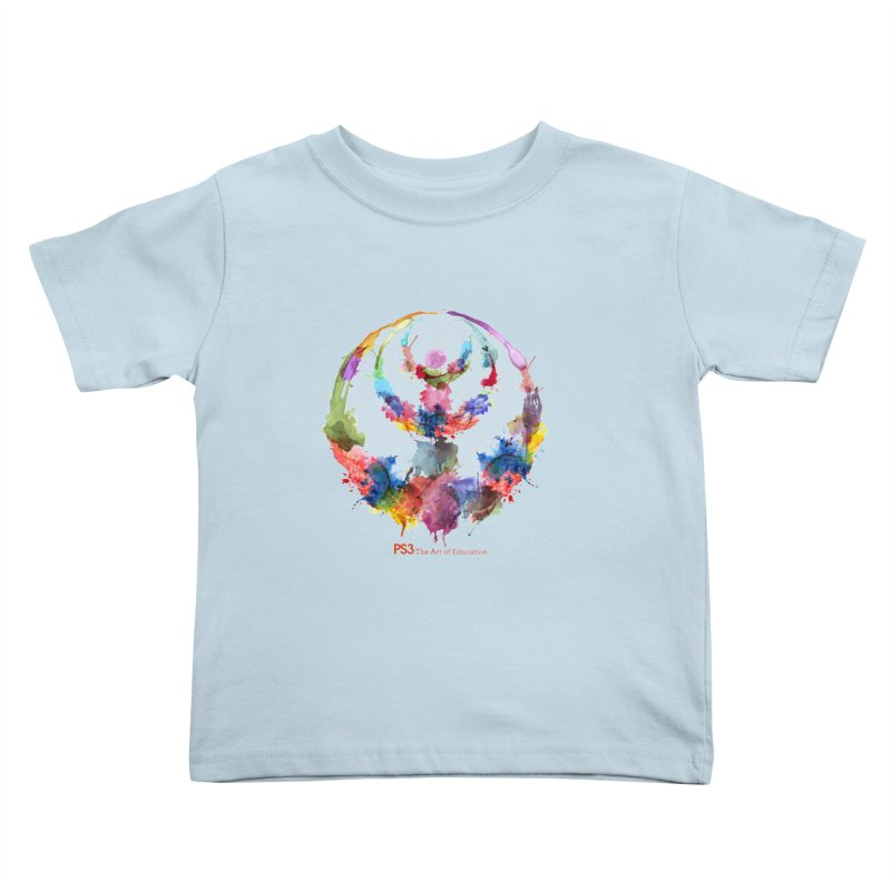 Limited Edition PS3 Watercolor Logo Kids Toddler T-Shirt by PS3: Charrette School