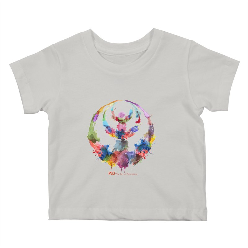 Limited Edition PS3 Watercolor Logo Kids Baby T-Shirt by PS3: Charrette School