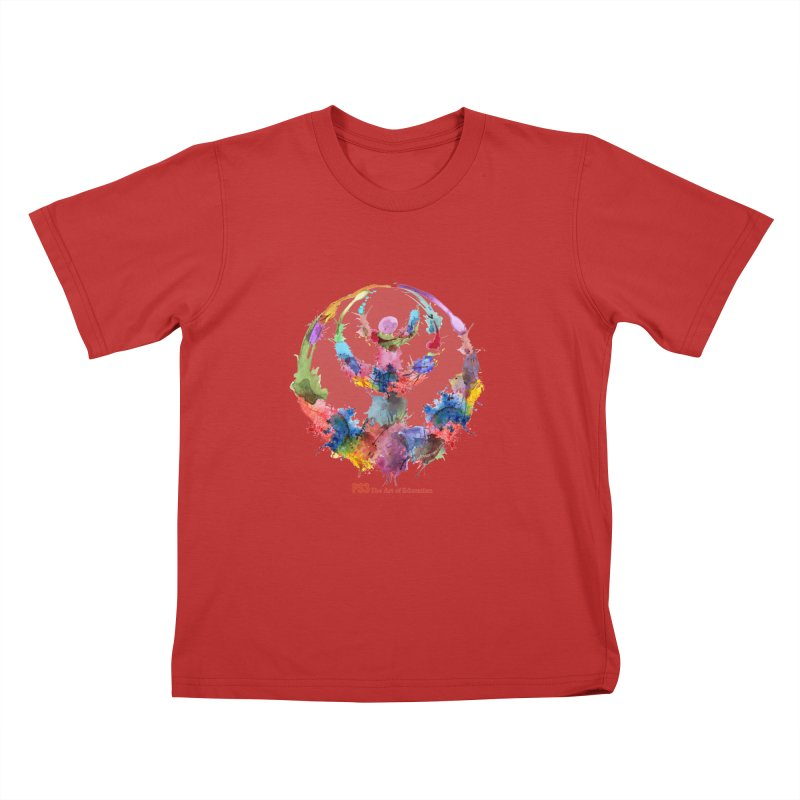 Limited Edition PS3 Watercolor Logo Kids T-Shirt by PS3: Charrette School