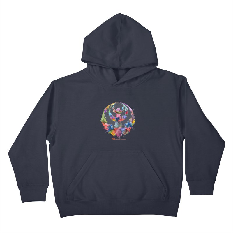 Limited Edition PS3 Watercolor Logo Kids Pullover Hoody by PS3: Charrette School