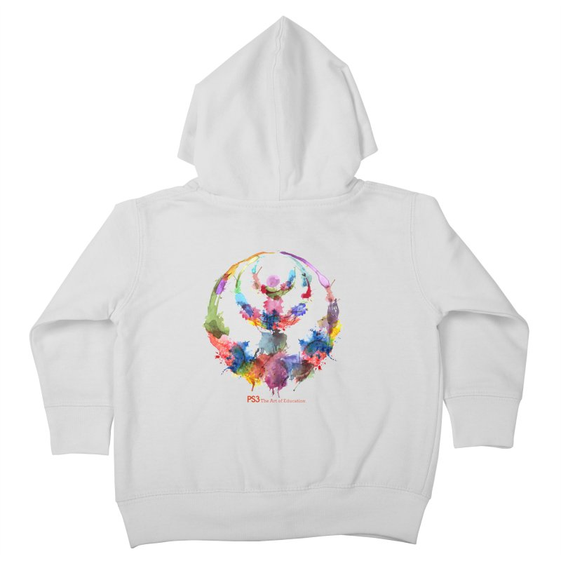 Limited Edition PS3 Watercolor Logo Kids Toddler Zip-Up Hoody by PS3: Charrette School