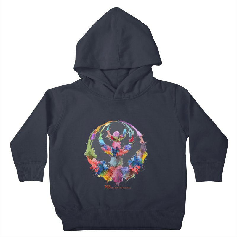 Limited Edition PS3 Watercolor Logo Kids Toddler Pullover Hoody by PS3: Charrette School