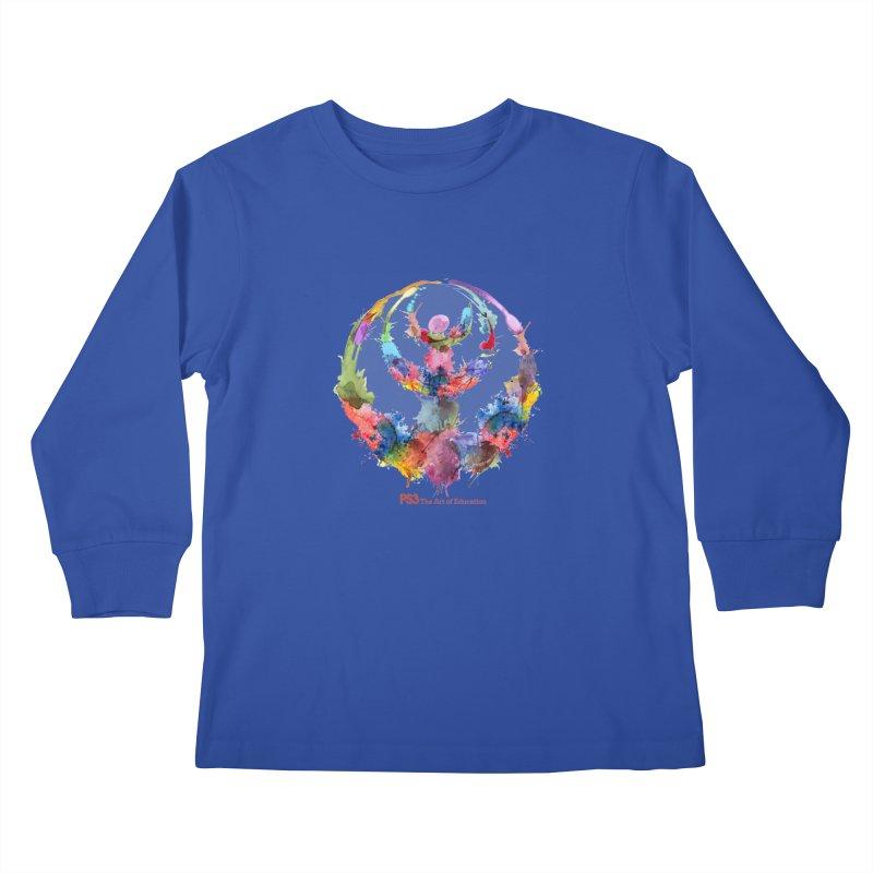 Limited Edition PS3 Watercolor Logo Kids Longsleeve T-Shirt by PS3: Charrette School