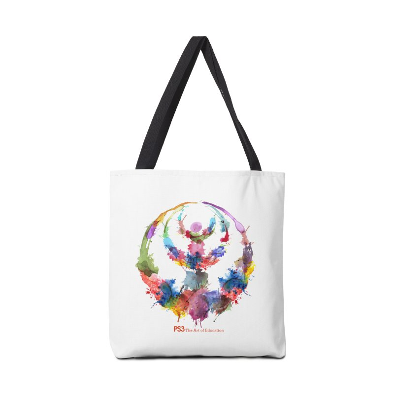 Limited Edition PS3 Watercolor Logo Accessories Tote Bag Bag by PS3: Charrette School