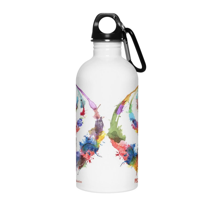 Limited Edition PS3 Watercolor Logo Accessories Water Bottle by PS3: Charrette School