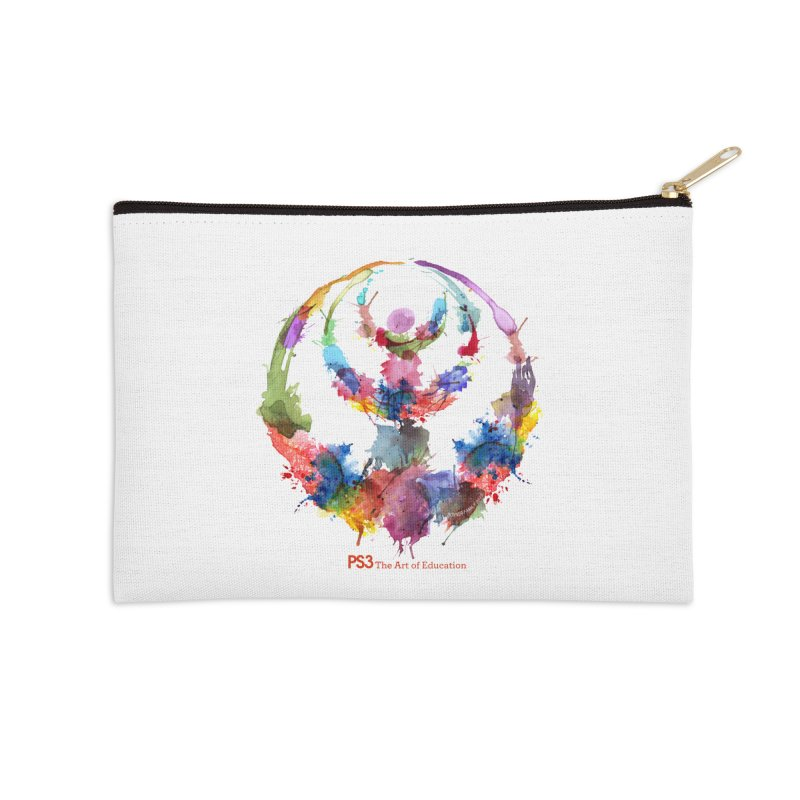 Limited Edition PS3 Watercolor Logo Accessories Zip Pouch by PS3: Charrette School