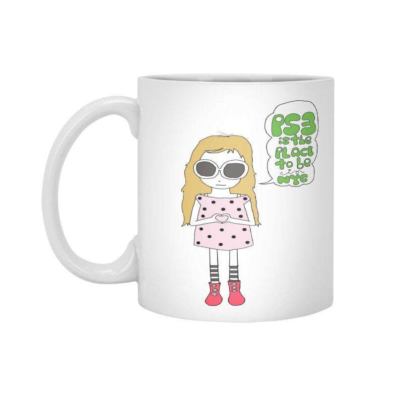 PS3 GIRL Accessories Mug by PS3: Charrette School
