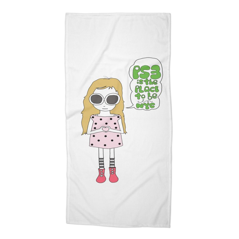 PS3 GIRL Accessories Beach Towel by PS3: Charrette School