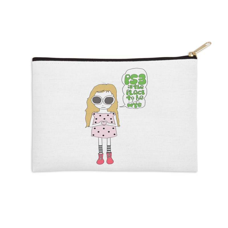 PS3 GIRL Accessories Zip Pouch by PS3: Charrette School