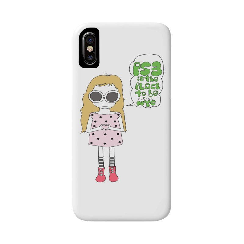 PS3 GIRL Accessories Phone Case by PS3: Charrette School