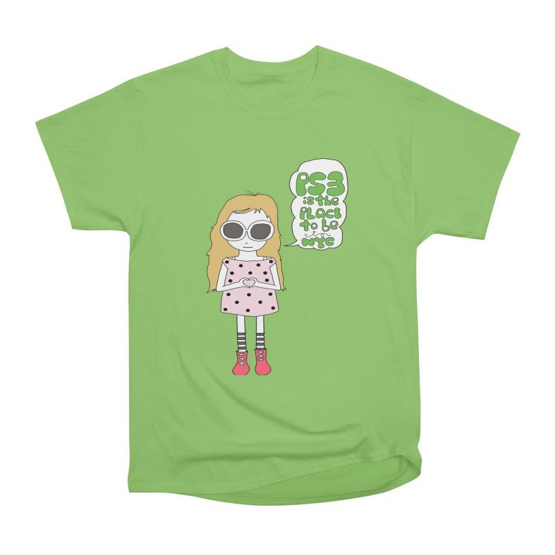 PS3 GIRL Men's Heavyweight T-Shirt by PS3: Charrette School