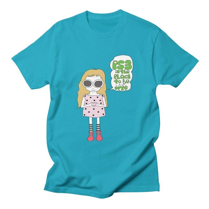 PS3 GIRL Women's Regular Unisex T-Shirt by PS3: Charrette School