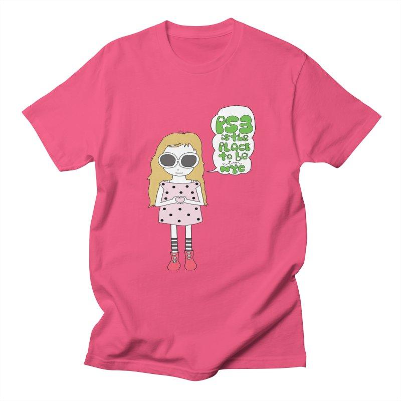 PS3 GIRL Men's Regular T-Shirt by PS3: Charrette School