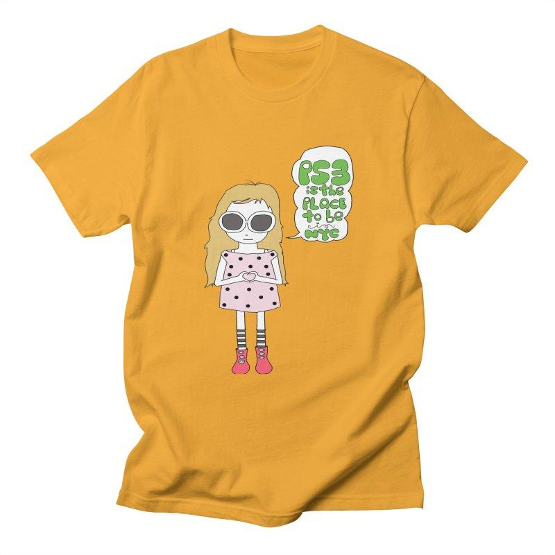 PS3 GIRL Men's T-Shirt by PS3: Charrette School