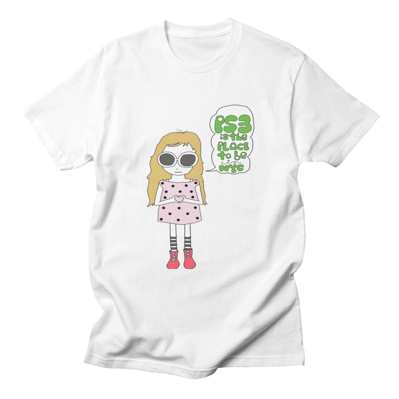 PS3 GIRL Women's Regular Unisex T-Shirt by PS3: Charrette School