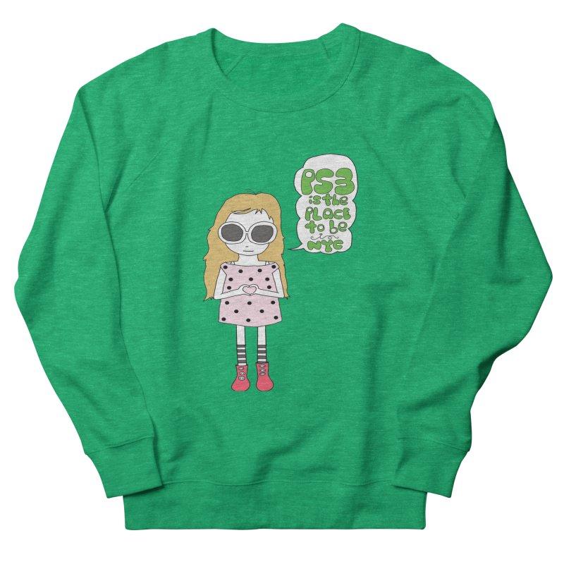 PS3 GIRL Men's French Terry Sweatshirt by PS3: Charrette School