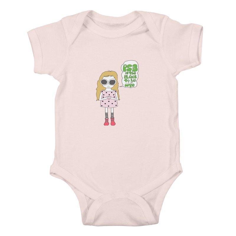 PS3 GIRL Kids Baby Bodysuit by PS3: Charrette School