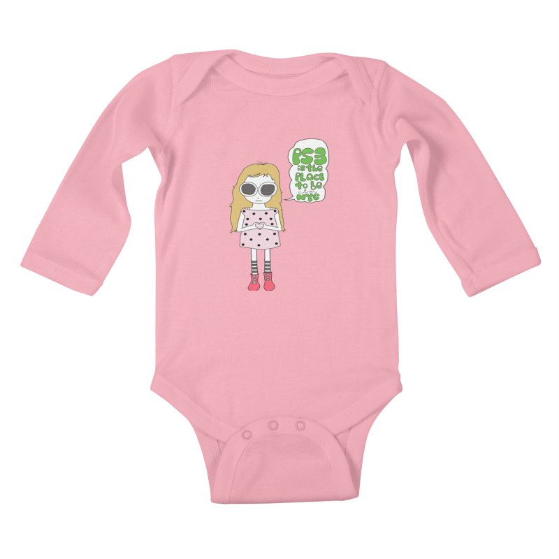 PS3 GIRL Kids Baby Longsleeve Bodysuit by PS3: Charrette School
