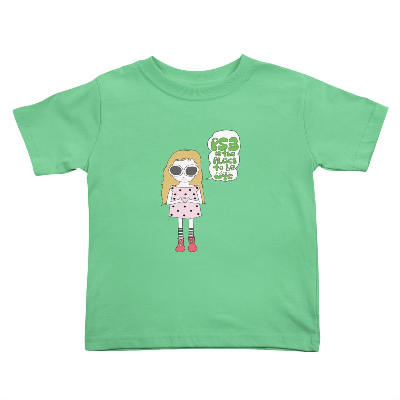 PS3 GIRL Kids Toddler T-Shirt by PS3: Charrette School