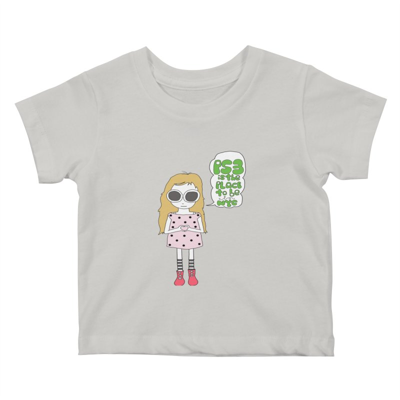 PS3 GIRL Kids Baby T-Shirt by PS3: Charrette School