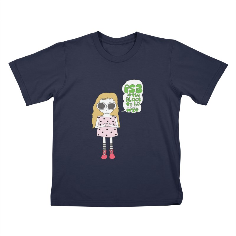 PS3 GIRL Kids T-Shirt by PS3: Charrette School