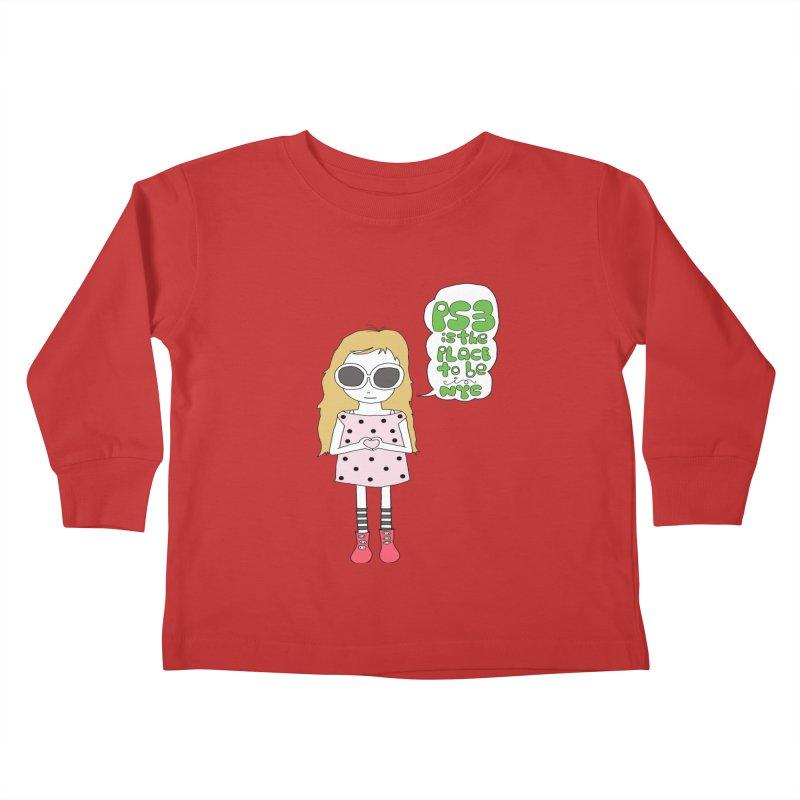 PS3 GIRL Kids Toddler Longsleeve T-Shirt by PS3: Charrette School