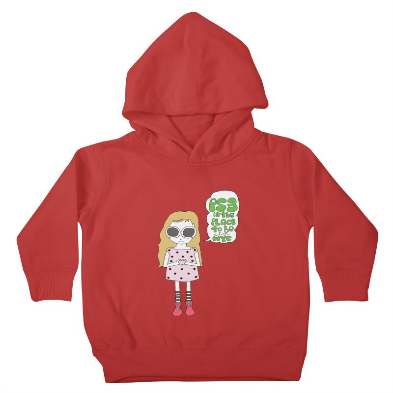 PS3 GIRL Kids Toddler Pullover Hoody by PS3: Charrette School