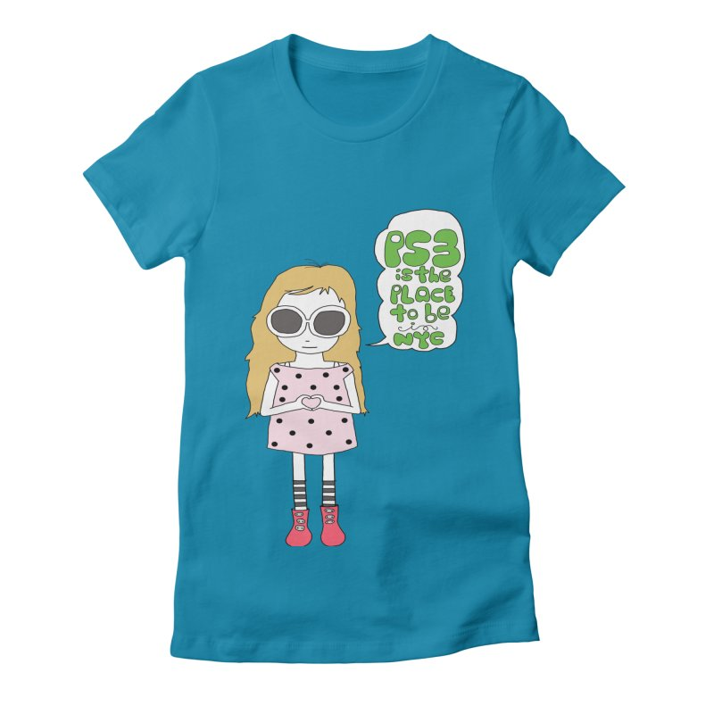 PS3 GIRL Women's Fitted T-Shirt by PS3: Charrette School