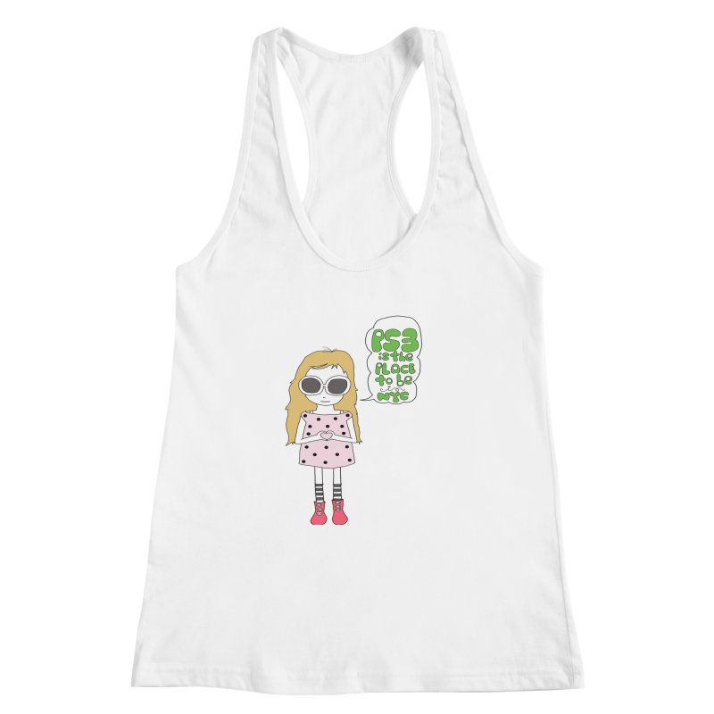 PS3 GIRL Women's Racerback Tank by PS3: Charrette School