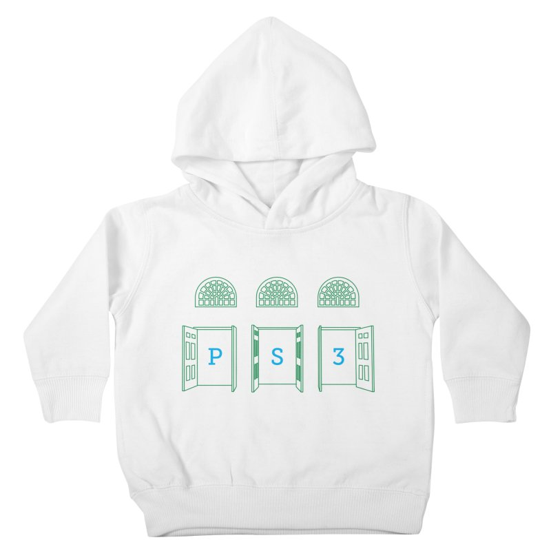 PS3 Tee, Green Doors Kids Toddler Pullover Hoody by PS3: Charrette School