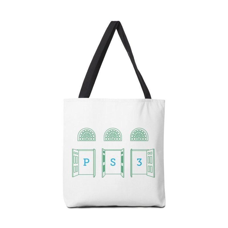 PS3 Tee, Green Doors Accessories Bag by PS3: Charrette School