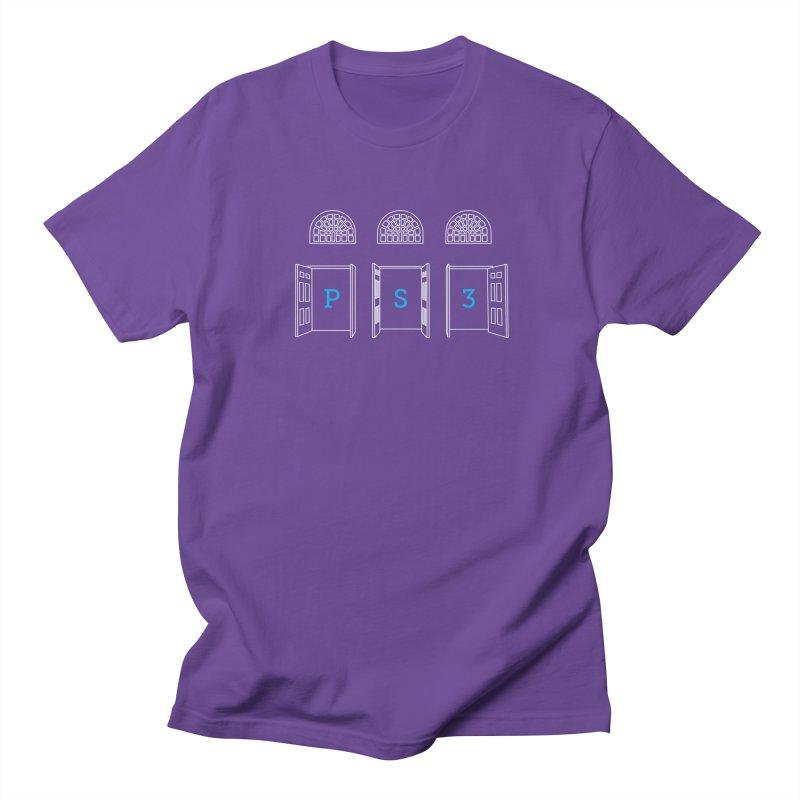 PS3 Tee, White Doors Women's Regular Unisex T-Shirt by PS3: Charrette School