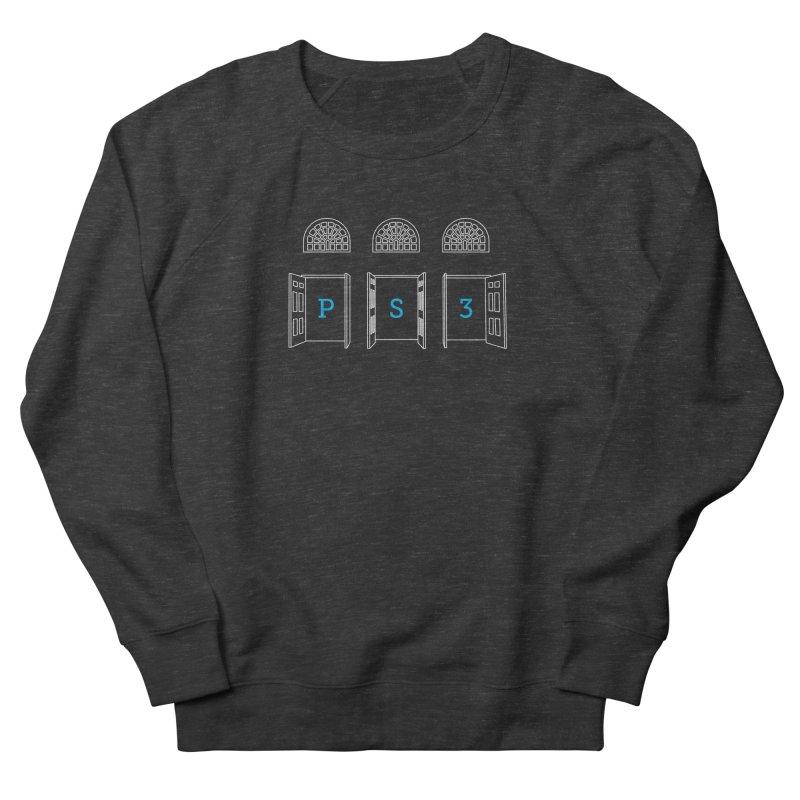 PS3 Tee, White Doors Women's French Terry Sweatshirt by PS3: Charrette School