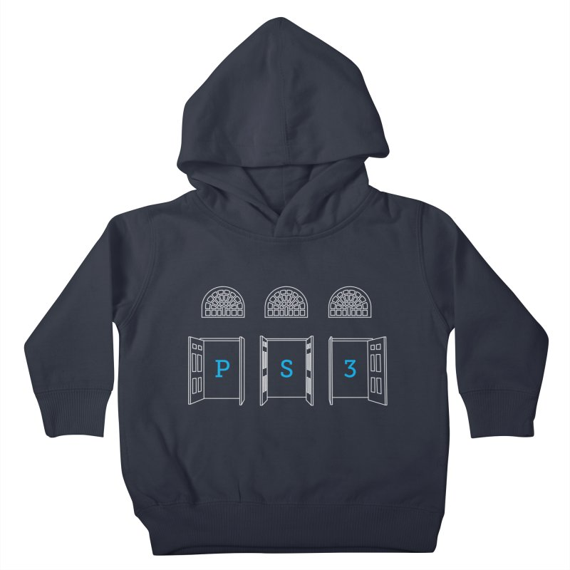 PS3 Tee, White Doors Kids Toddler Pullover Hoody by PS3: Charrette School