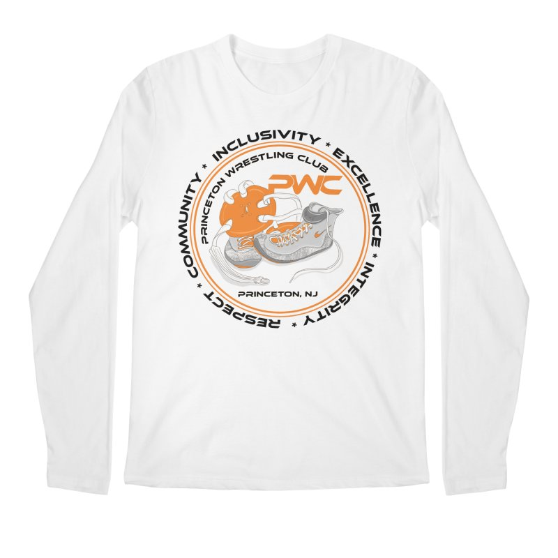 PWC Circle Logo White Shirts  Men's Regular Longsleeve T-Shirt by PWC's Artist Shop
