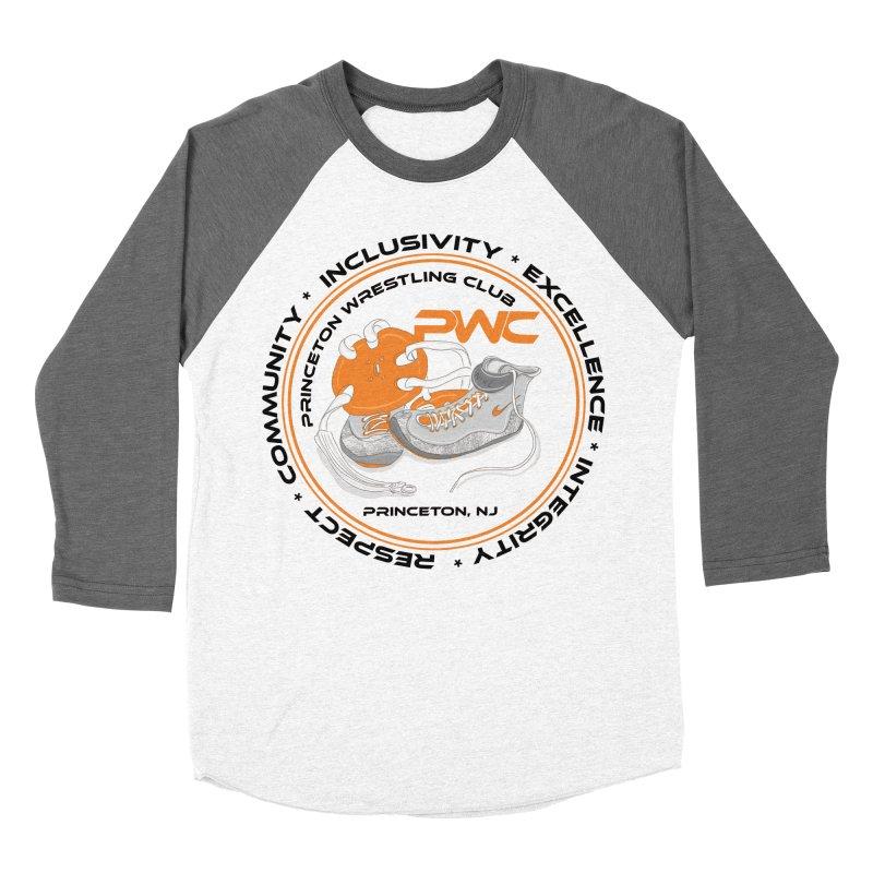 PWC Circle Logo White Shirts  Men's Baseball Triblend Longsleeve T-Shirt by PWC's Artist Shop