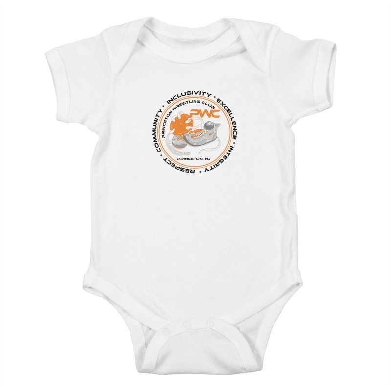 PWC Circle Logo White Shirts  Kids Baby Bodysuit by PWC's Artist Shop